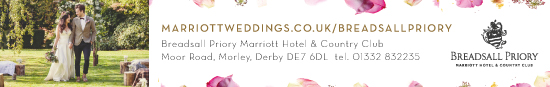 breadsall priory Wedding Banner