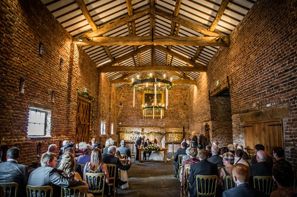 Beautiful Outdoor Wedding Venues Near Me: Meols Hall Tithe Barn Weddings