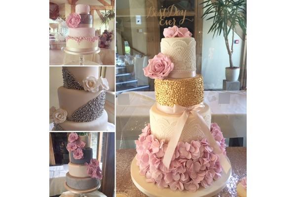 elegant cake design manchester