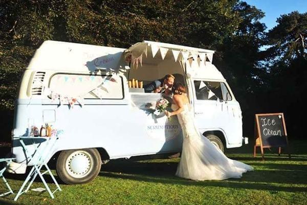 truly scrumptious ice cream van