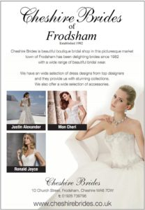 cheshire brides frodsham