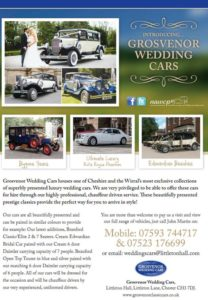grosvenor wedding cars