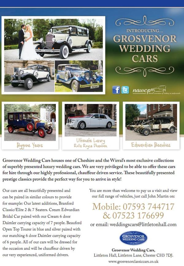 grosvenor wedding cars