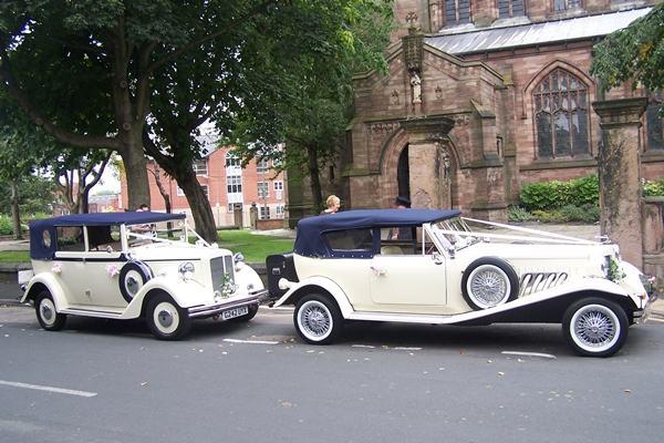limo scene wedding cars