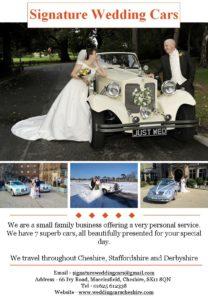 signature wedding cars