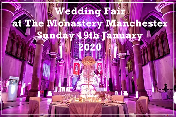monastery manchester wedding fair 19th january 2020