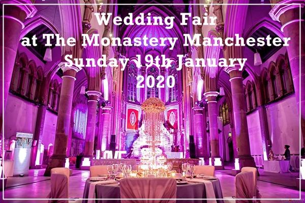 monastery manchester wedding fair 19th january 2020