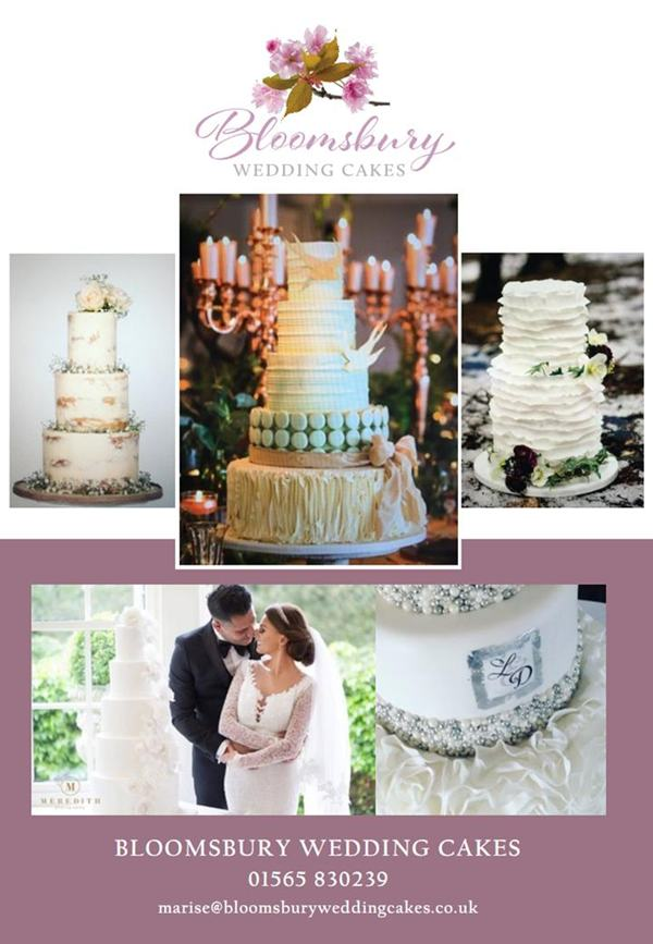 bloomsbury wedding cakes