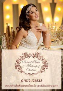 bridal hair and make up cheshire