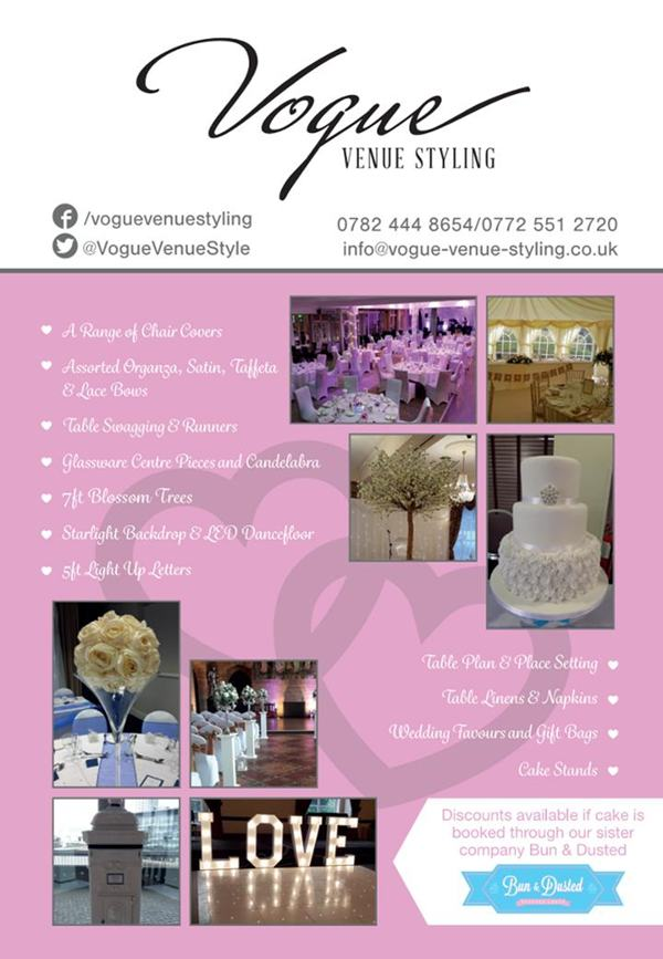 vogue venue styling glossop