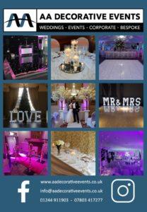 aa decorative events