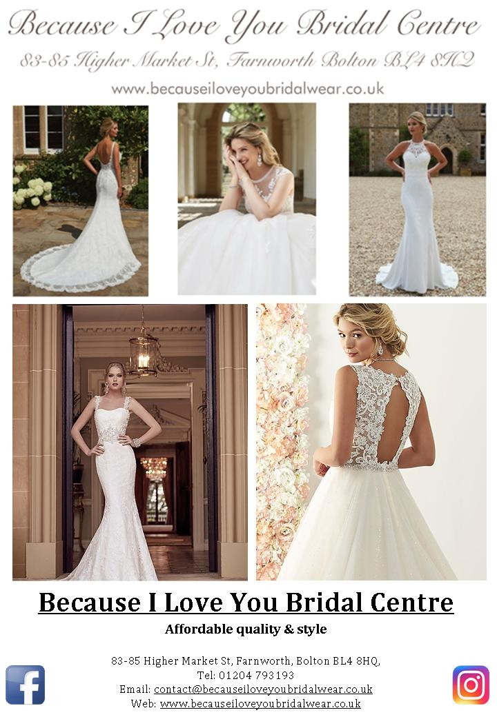 Because I love You Bridal Centre