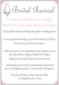 bridal revival