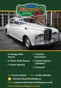 chester wedding cars