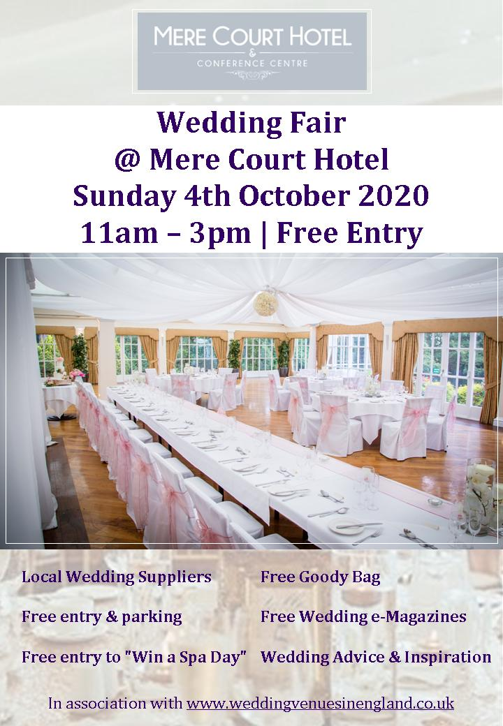 mere court hotel wedding fair 4th october