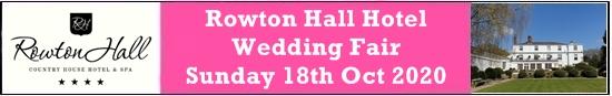 rowton hall hotel wedding fair