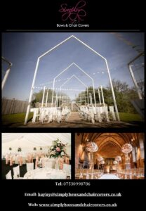 simply bows and chaircovers cheshire