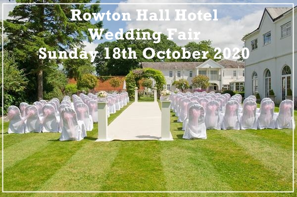 rowton hall hotel wedding fair