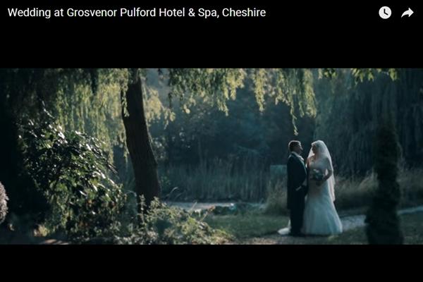 grosvenor pulford hotel weddings video