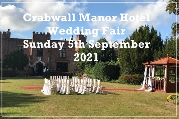 crabwall manor hotel wedding fair