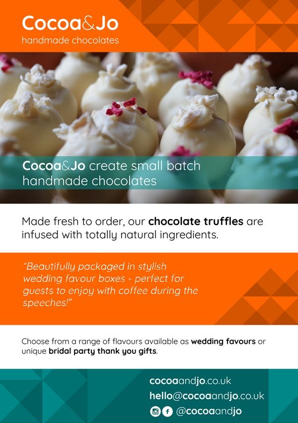 cocoa and jo handmade chocolates