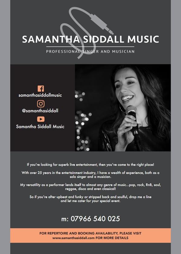 samantha siddall music
