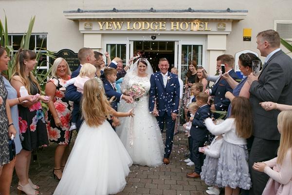 yew lodge hotel weddings