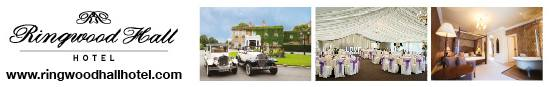 ringwood hall hotel weddings banner