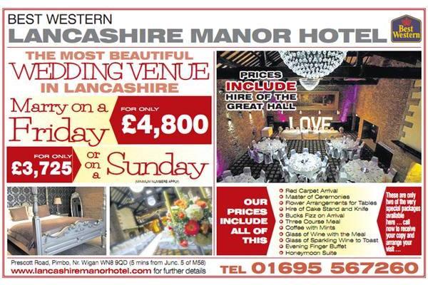 lancashire manor hotel offers