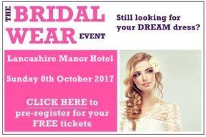 lancashire manor hotel bridal wear event