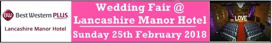 lancashire manor hotel wedding fair