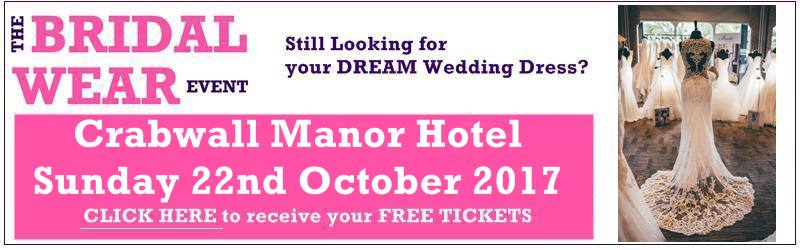 bridal wear event crabwall manor hotel