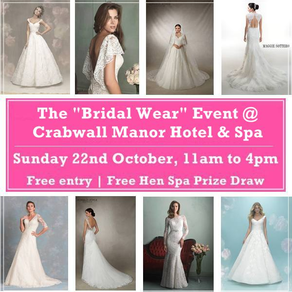 bridalwear event crabwall manor hotel