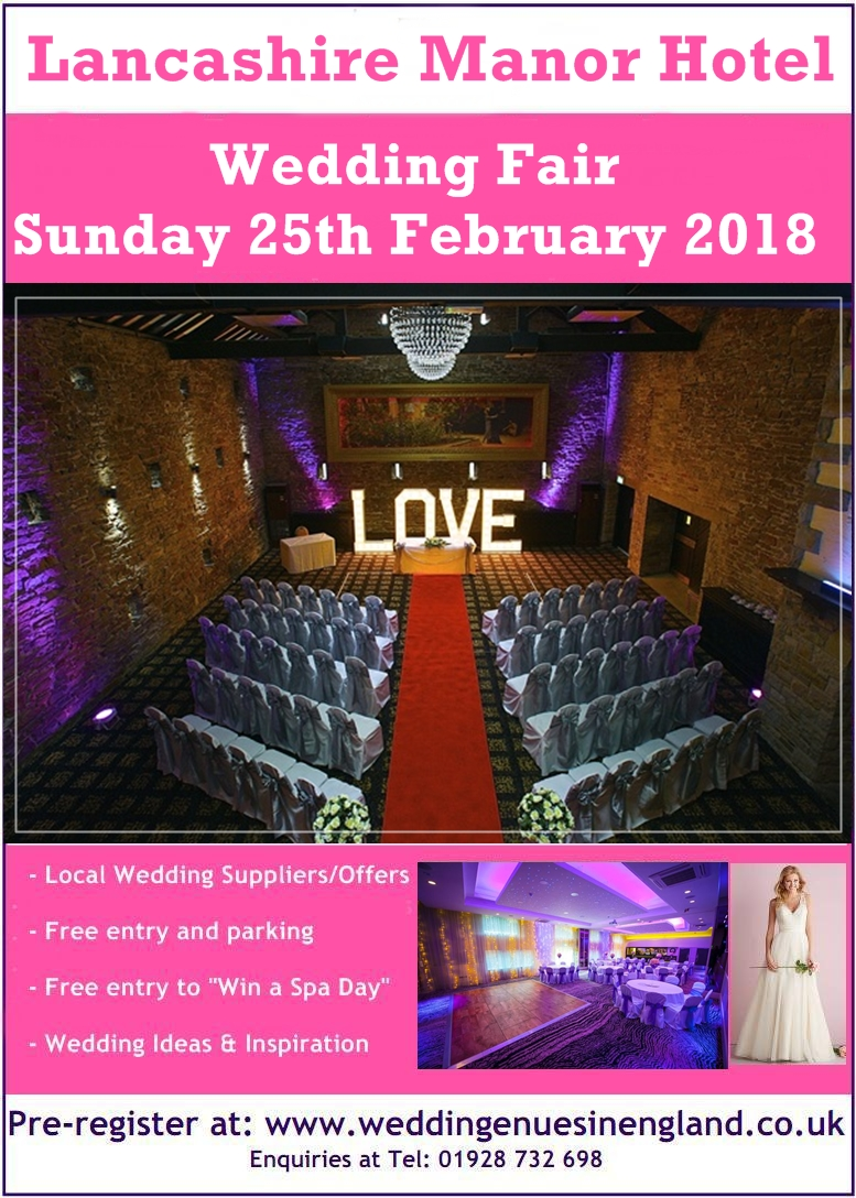 lancashire manor hotel wedding fair