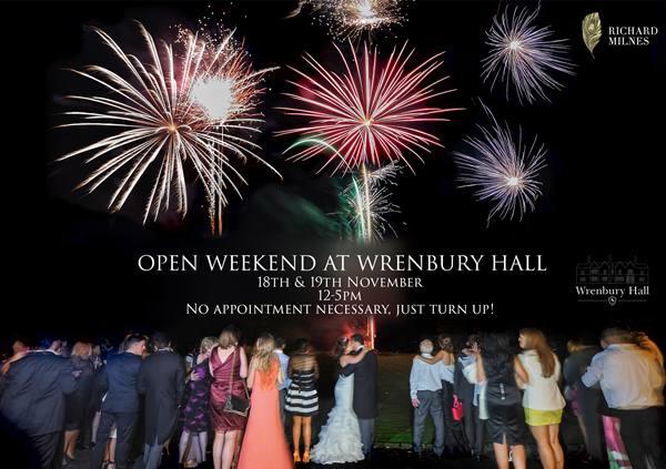 wrenbury hall wedding event