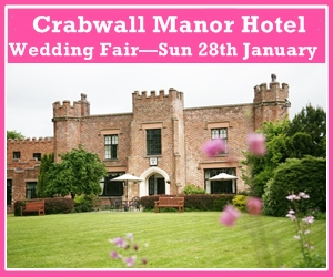 Crabwall Manor Hotel Wedding Fair Sunday 16th September 2018