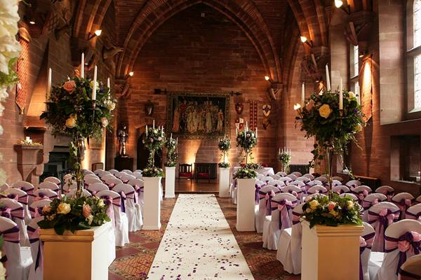 Peckforton Castle Weddings Peckforton Castle Wedding