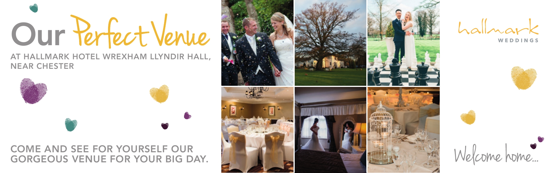 Hallmark Hotel Wrexham Llyndir Hall, near Chester Weddings