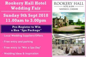 rookery hall hotel wedding fair
