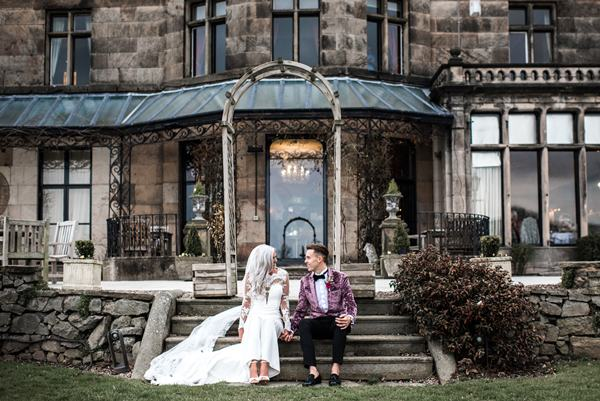 rookery hall real wedding