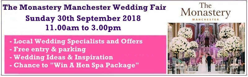 the monastery manchester wedding fair 30th sept