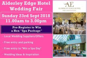 alderley edge hotel wedding fair