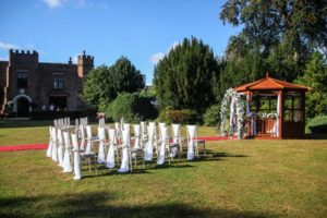 crabwall manor hotel wedding gazebo