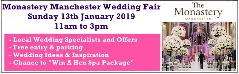 the monastery manchester wedding fair january 2019