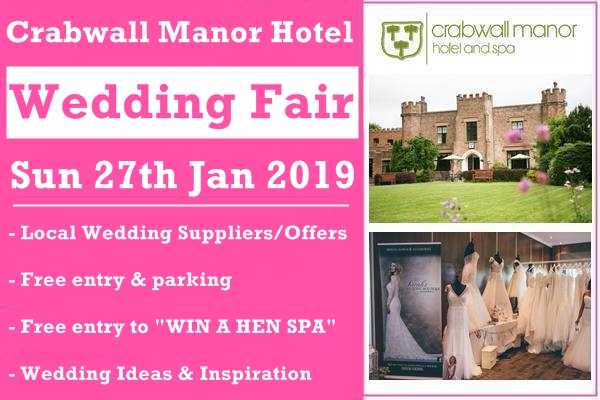 crabwall manor hotel wedding fair 27 january 2019