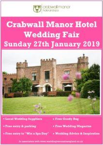 crabwall manor hotel wedding fair 27 january 2019